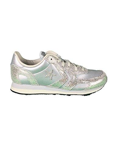 Schuhe Turnschuhe Laufen 556819c Converse Schnürsenkel Silber Granite Granit xwSI77UqZ