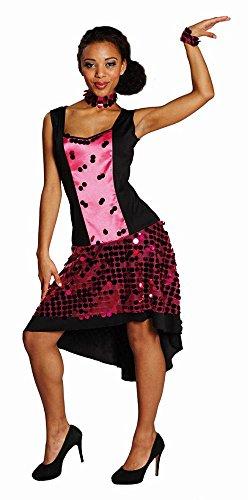 Rubie's Damen Kostüm Glamour Girl Show Tänzerin zu Karneval Fasching ()