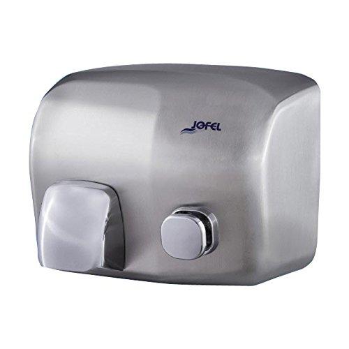 Toilettenpapierhalter Großrollen Jofel aa91500-secamanos íbero Push Button, Edelstahl satin, 2000W -