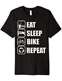 Eat sleep bike repeat Tshirt
