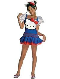 Rubies Costume Co R881655-M M-dchen Blau Hallo Kitty Kost-m MEDIUM