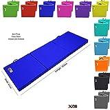 Xn8 - Alfombrillas de yoga para deportes, plegables, 6 cm más de 5 cm de grosor, resistentes y...