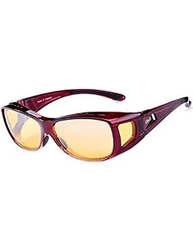 Duco alrededor de los anteojos de la prescripción de la visión nocturna polarizada que conduce los vidrios 8953Y...