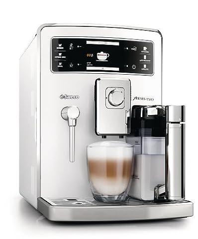 Saeco HD8953/21 Xelsis Evo Kaffeevollautomat, 15 bar, integrierte Milchkaraffe, weiß