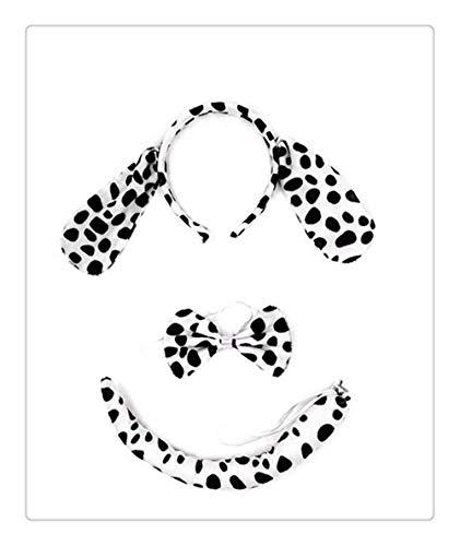 Pferd Und Kostüm Ohren Schwanz - Z-one 1 Pferd, Zebra Kids Stirnband Ohren und Schwanz Set - Einheitsgr?sse - Kost¨¹m f¨¹r Rollenspiele Animals Dress Up Zubeh?r
