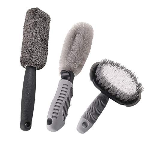 FLAMEER Reinigung Bürsten Satz Für Räder, Reifen, Stoßstangen, Fußmatten- Weiche Bürste -