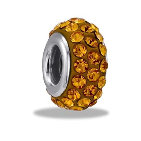 DaVinci Bead November 3 Row Crystal - Jewelry Bracelet Memories Beads DB45-8-DAV by Center Court