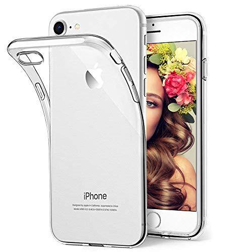 Hülle für iPhone 6S Hülle Soft Silikon Kompatibel mit iPhone 6 Handyhülle Transparent Dünn Slim Clear Case Cover für iPhone 6S/6 Schutzhülle mit Stoßfest Anti-Kratz Anti-Fall Anti-Fingerabdruck (Schutzhülle Iphone 6 Fällen)