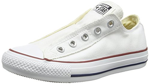 Converse Ct As Slip, Herren Sneakers Weiß (Optical White)