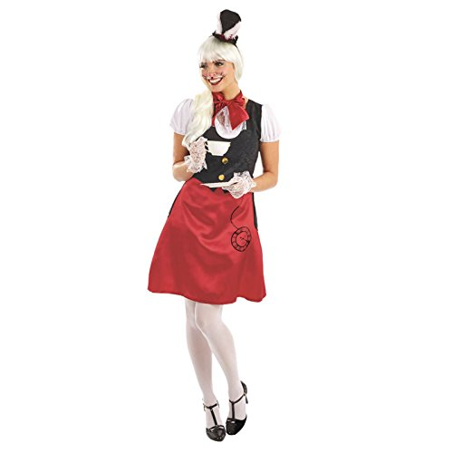 Frau Kaninchen Alice im Wunderland Kostüm (Alice Kind Kaninchen Wunderland Im Kostüm)