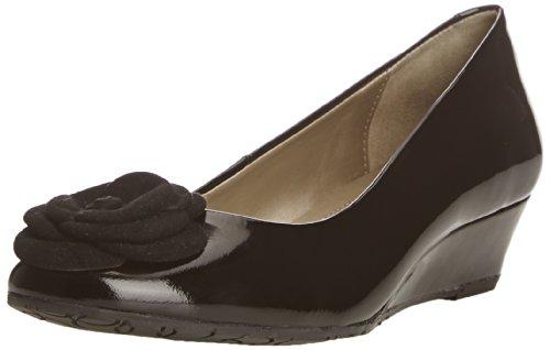Van Dal  Gabriel,  Damen Pumps , Schwarz - Black Patent/Suede - Größe: 38