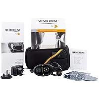 Slendertone Erwachsene Bauchtrainer mit Elektro-Muskel-Stimulation ABS 7, Schwarz, One Size