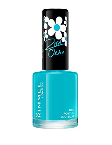 Rimmel Rita Ora, 880 Port-A-Loo-Blue, 8ml