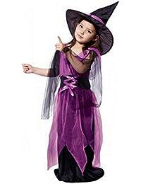 Bluestercool Kleinkind Kinder Halloween-Kleidung Festival Kostüm Partykleid + Hut, Beste Halloween-Outfit für Baby Girls
