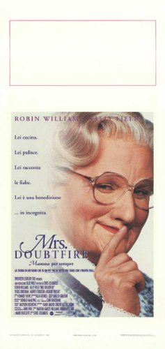 mrs-doubtfire-poster-de-pelicula-italiana-13-x-28-en-34-cm-x-72-cm-paul-guilfoyle-robin-williams-sal