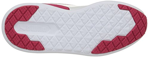 Puma St Trainer Evo Jr, Baskets Basses Mixte Enfant Rose - Pink (rose red-white 04)