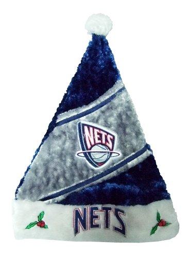new-jersey-nets-nba-himo-plush-santa-hat-cappello