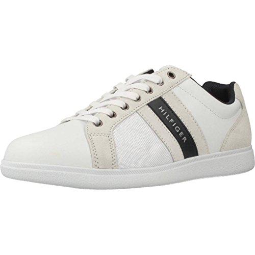 Tommy Hilfiger Basket, Couleur Blanc, Marque, modèle Basket FM0FM01479 Blanc