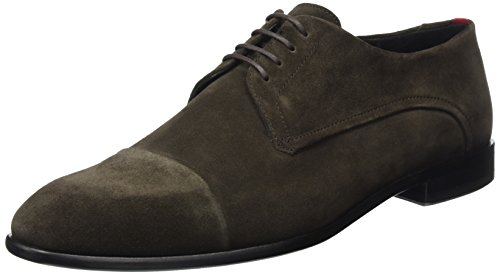 Hugo Dressapp_derb_sdct 10201359 01, Derby Homme Marron (Dark Brown)
