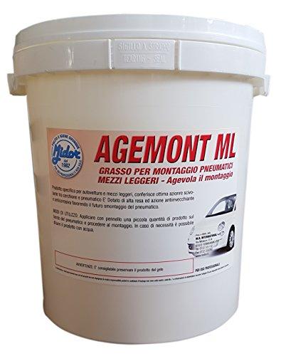 Midor-Grasso-per-Montaggio-Pneumatici-Mezzi-Leggeri-Automobili-Moto-Agevola-Il-Montaggio-AGEMONT-ML-4kg