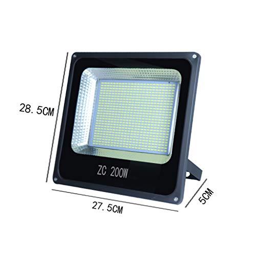 XEX LED-Flutlicht, Niederspannungs-12V-36V Universal-Marine-DC-Sicherheitslicht, wasserdichtes Arbeitslicht im Freien, Nachtmarktbeleuchtung (Farbe : 200W) -