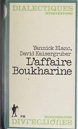 Livre gratuits L'Affaire Boukharine ou le Recours de la mémoire pdf, epub