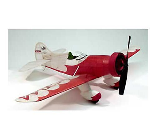 Gee Bee Model E Stock No. 302 , Rubber Powered Model - DUM302 Powered Laser