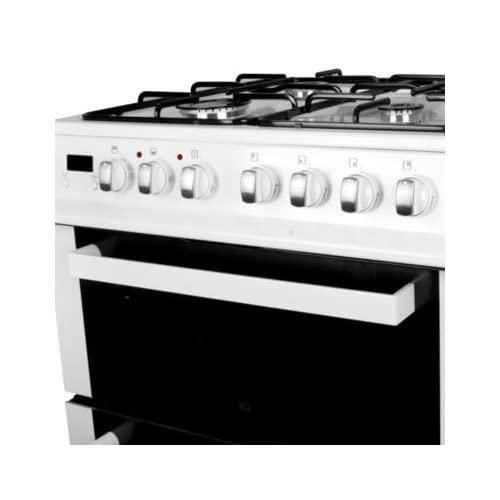 41XQZ0AaM6L. SS500  - electriQ 60cm Dual Fuel Cooker with Double Oven in White