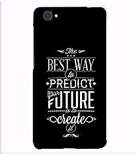 Fuson Designer Back Case Cover for Vivo X5Pro :: VivoX5Pro (The Best Way To Predict)