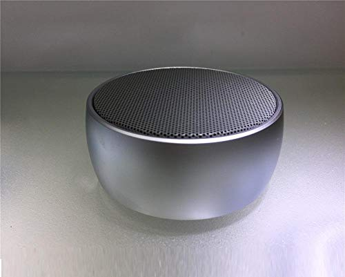 Bluetooth Lautsprecher Schach Bluetooth Tragbarer Mini Subwoofer Mobile Cannon Elf Stone Sound@Silber (Blau Boost Mobile Telefone)