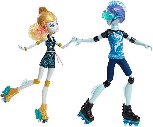 Monster High Lagoona Blue and Gil Weber Rollschuh Liebe, Puppen Doppelpack (Lagoona Monster High)