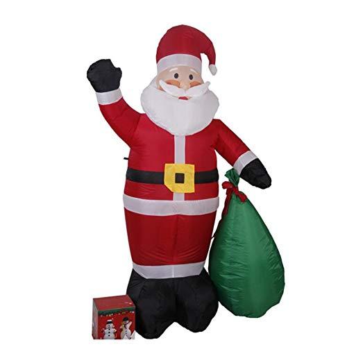 ZXL Zierschmuck 180cm Air Inflatable Santa Claus Snowman -