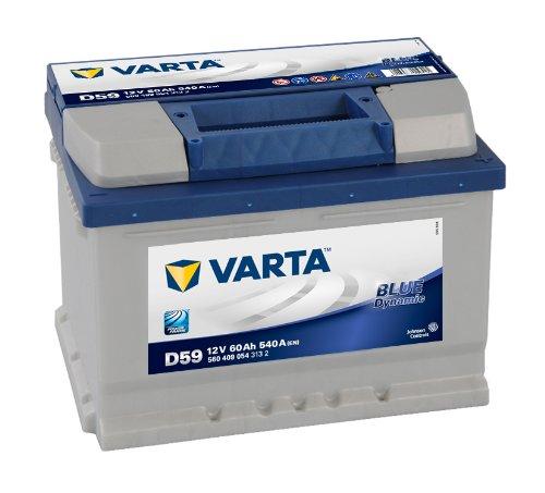 Alpin 58360 Varta Blu Dynamic Batteria, 60 Ah