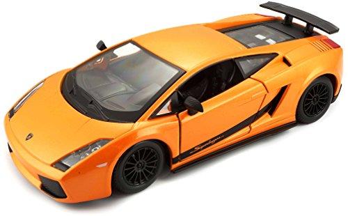 Bburago 25089 - Lamborghini Gallardo Superleggera, 1:24, farblich sortiert
