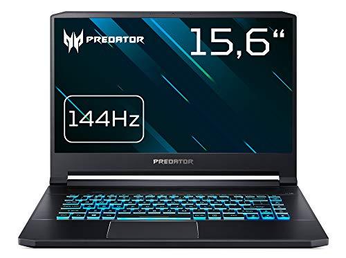 Acer Predator Triton 500 PT515-51-73G6 39,6 cm (15,6 Full-HD IPS matt) Notebook (Intel Core i7-8750H, 16GB RAM, 512GB PCIe SSD, NVIDIA GeForce RTX 2060, Win 10 Home) schwarz
