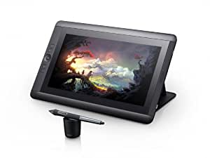Wacom Cintiq 13HD Interactive Pen Display (33,8 cm (13,3 Zoll) TFT LCD-Display, Full HD, HDMI, USB), Sprachversion DE/EN/SE