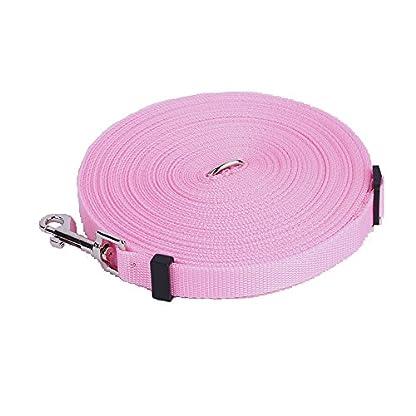 Katomi Dog Pet Puppy Training Obedience Lead Leash (1.8m*2cm, Pink) 1