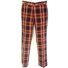 Rojo de cuadros escoceses de Botón pantalones diseño roquero de Mod Sta Hexbug oruga