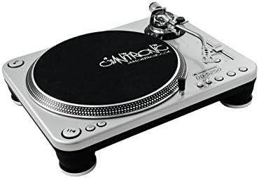Omnitronic 10603004 - Plato para DJ, color plateado