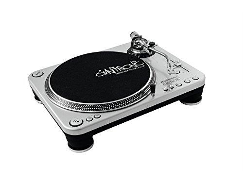 OMNITRONIC 10603004   PLATO PARA DJ  COLOR PLATEADO
