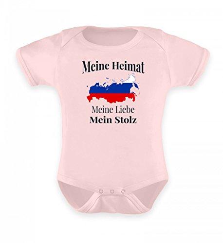Hochwertiges Baby Body - Meine Heimat Russland Meine Liebe Mein Stolz Ein T-Shirt für Stolze Russen