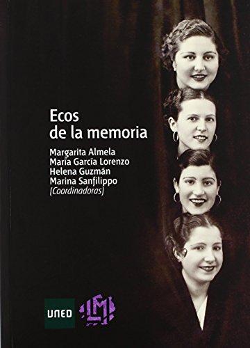 Ecos De La Memoria (Artes y Humanidades) de Margarita ALMELA BOIX (19 sep 2011) Tapa blanda