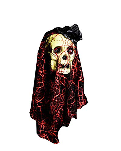 BESTHOO Halloween-Party Halloween verkleiden Sich Haunted House Dekoration Requisiten Blase Simulation Blutungen Kopf Friedhof Horror Dress Up Seide Ornamente