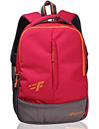 F Gear Ferrari 19 Ltrs Red Casual Backpack (2270)