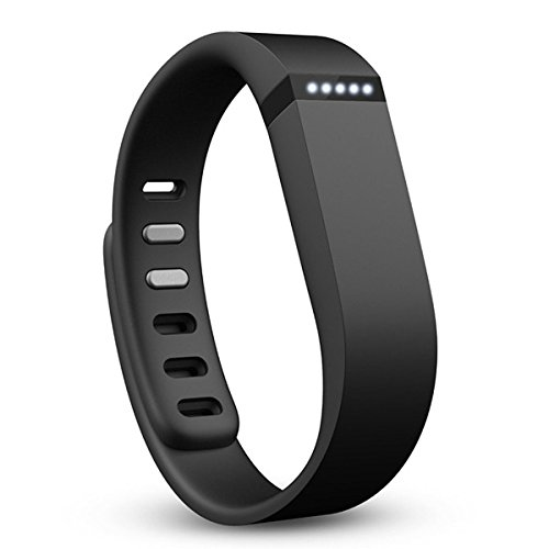 Milanao-Aktivität- und Schlaf-Armband Ersatzarmband für Fitbit Flex mit Clasp ohne Tracker Groß/Klein Size Small,Black (Schlaf-tracker Fitbit Flex)
