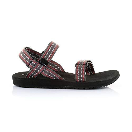 Slip-on-Überschuhe (Source Herren Classic Sandale, Oriental Brwon/Red, 45)