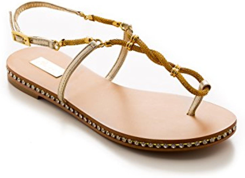 Donna   Uomo Antonio Raggini Sandalo Infradito con Gioiello Regina di qualità Imballaggio elegante e robusto Vendite globali | Costi medi  | Scolaro/Ragazze Scarpa