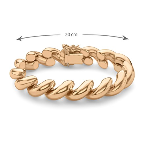 Carissma Gold - Bracelet cordon - Or blanc 9 cts - 20.32 cm - 5.29.6113 Or Rose