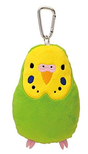 doux-et-downy-oiseau-en-peluche-poupe-bobine-pass-case-perruches-vert