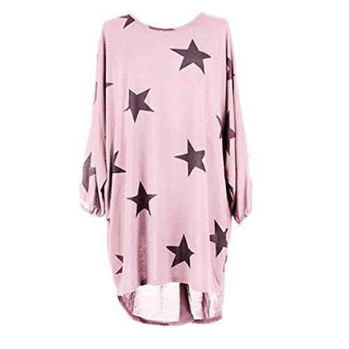 SSoul Top à Manches Longues - Femme Taille Unique rose bébé